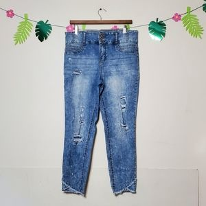 High Rise Sculpting Skinny Jean